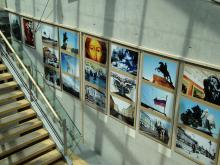 Fotoausstellung zu Sankt Petersburg