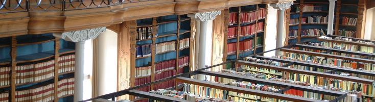 Universitätsbibliothek Bamberg: Lesesaal der Teilbibliothek 1