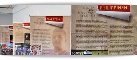 """Ausstellung: """"Medien- und Meinungsfreiheit in Südostasien"""""""