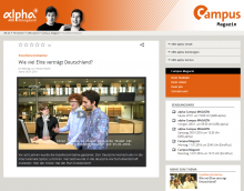 Screenshot Fernsehbeitrag ARD-alpha