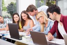 Schulungssituation mit Studenten
