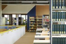 Lesesaal 3 der Hauptbibliothek in Erlangen