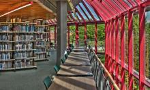 UB Bayreuth, Innenansicht Teilbibliothek NW2