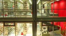 Zentralbibliothek Bayreuth beleuchtet